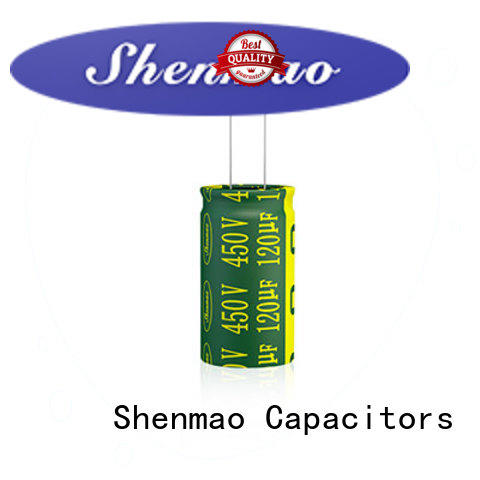 Shenmao stable Radial Aluminum Electrolytic Capacitor supplier for rectification