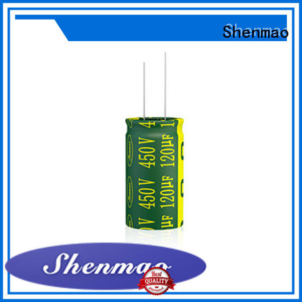 Shenmao quality-reliable best electrolytic capacitor manufacturers supplier for coupling