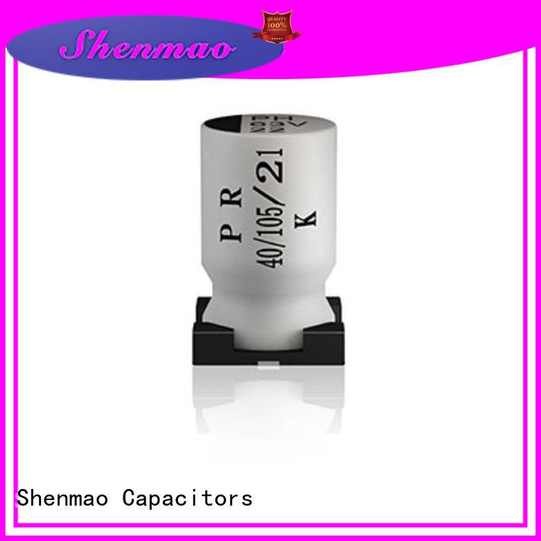 Shenmao energy-saving 47uf smd capacitor bulk production for rectification