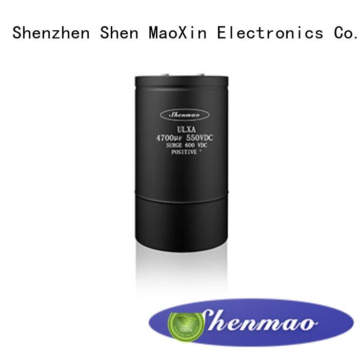 Shenmao advanced technology 10uf 16v electrolytic capacitor for rectification