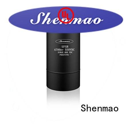 Shenmao good to use 600v electrolytic capacitors owner for temperature compensation