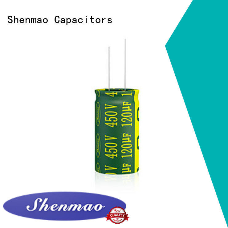 Shenmao durable 1000uf 25v radial electrolytic capacitor vendor for rectification