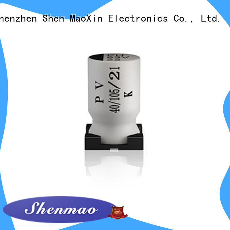 competitive price surface mount electrolytic capacitor supplier for filter
