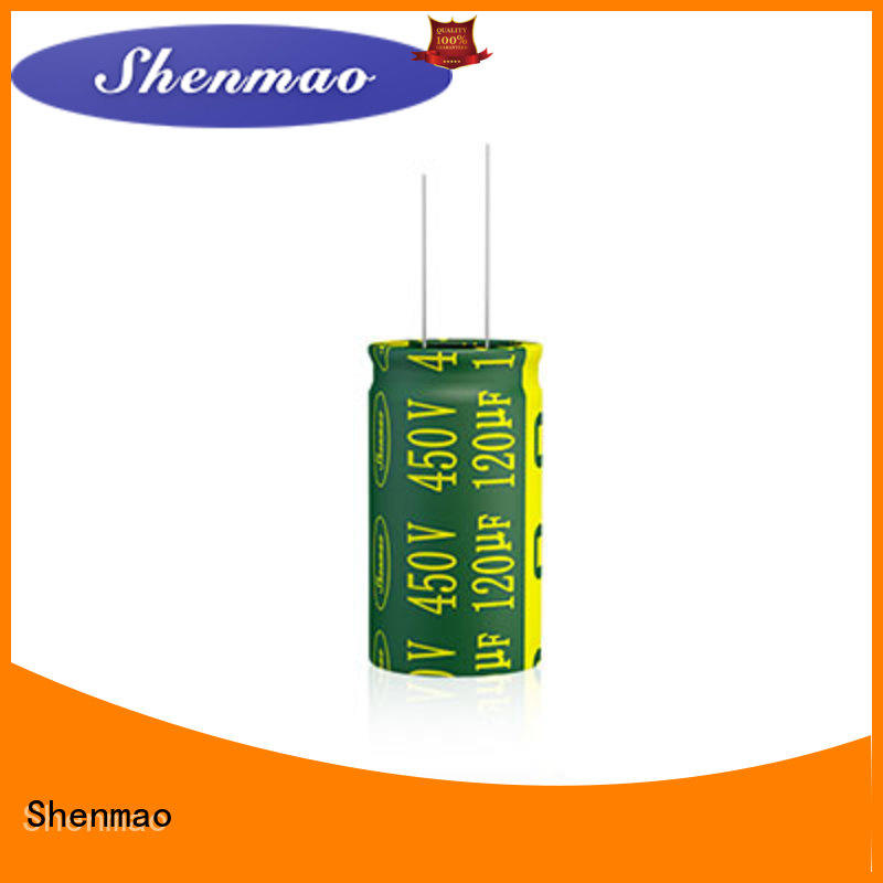Shenmao quality-reliable best electrolytic capacitor manufacturers overseas market for coupling