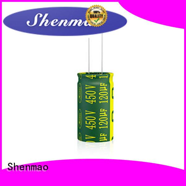Shenmao radial capacitors overseas market for tuning