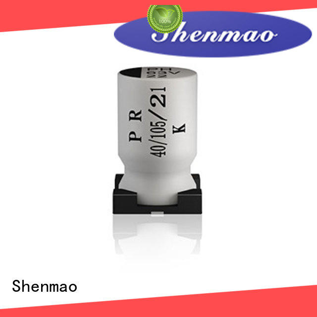 Shenmao 100uf smd capacitor overseas market for rectification