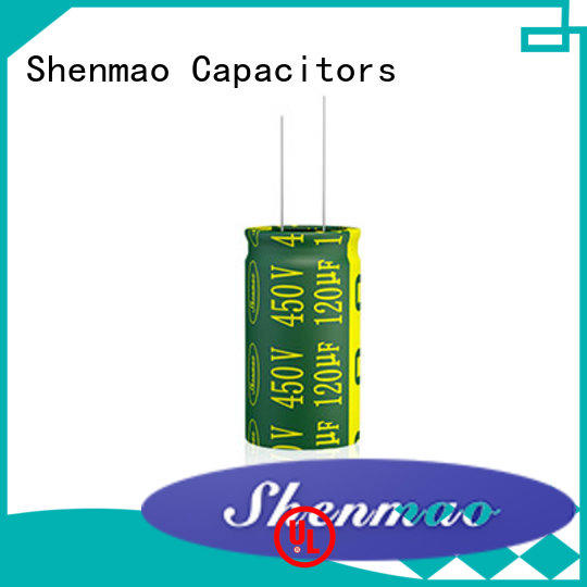 Shenmao quality-reliable radial can capacitor supplier for temperature compensation