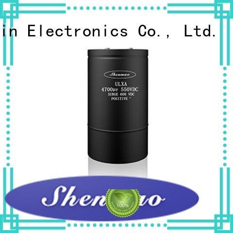 Shenmao stable screw terminal capacitor vendor for filter