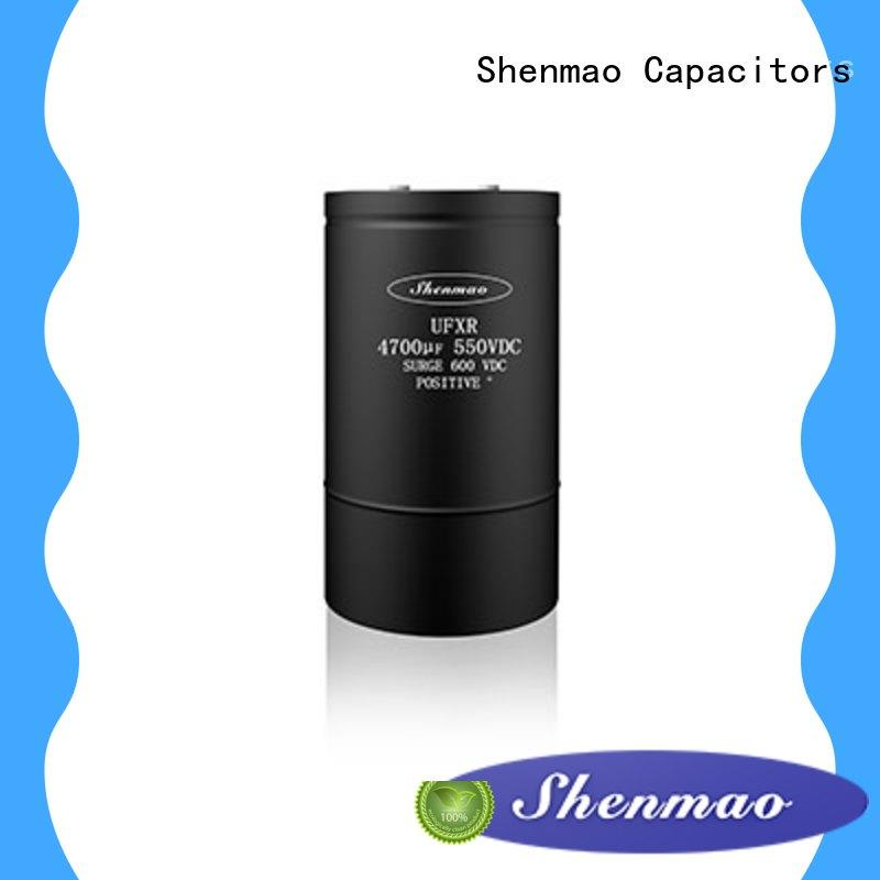 Shenmao stable screw type capacitor overseas market for filter