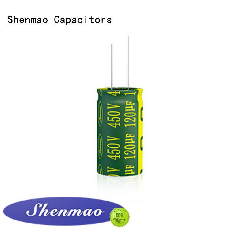 Shenmao 1000uf 450v radial electrolytic capacitors vendor for temperature compensation