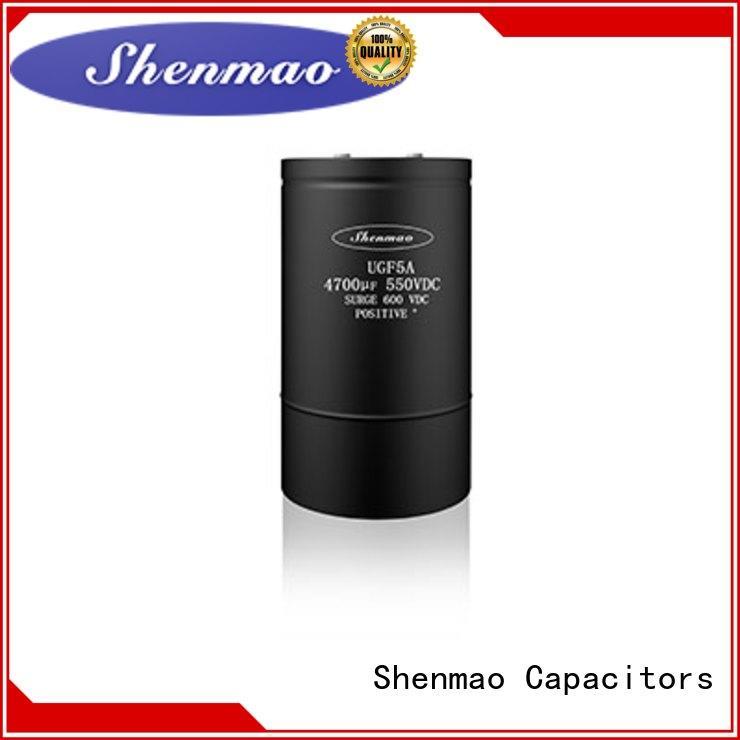 Screw Terminal Aluminum Electrolytic Capacitor UGF5A SERIES(85℃ 2000H)