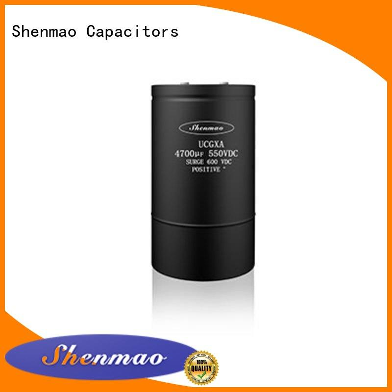 Shenmao low esr aluminum electrolytic capacitors owner for tuning