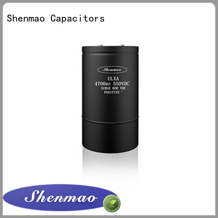 Shenmao high quality polymer electrolytic capacitor supplier for energy storage