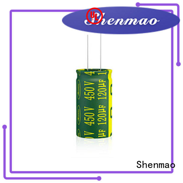 Shenmao easy to use best electrolytic capacitor manufacturers owner for filter