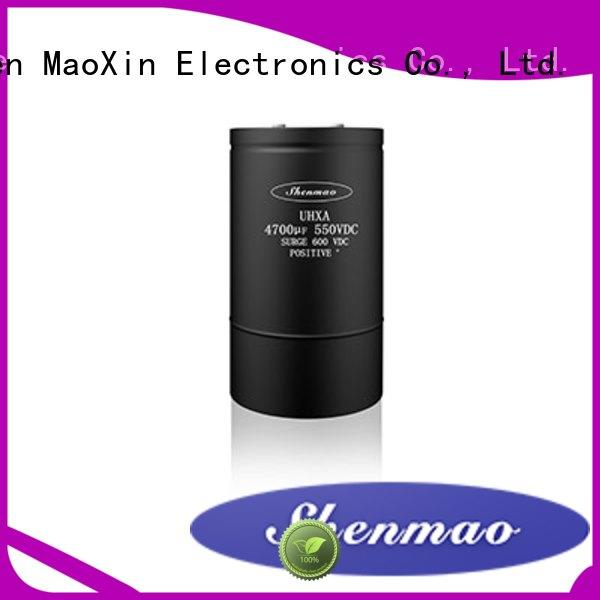 Shenmao screw terminal capacitor vendor for timing