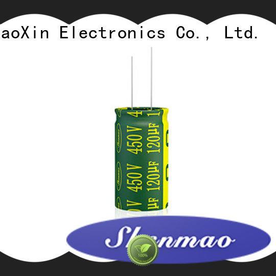 Shenmao Radial Aluminum Electrolytic Capacitor marketing for filter