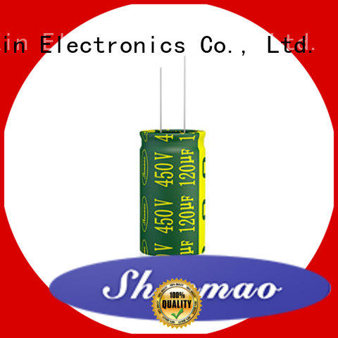 Shenmao easy to use radial lead capacitor overseas market for tuning