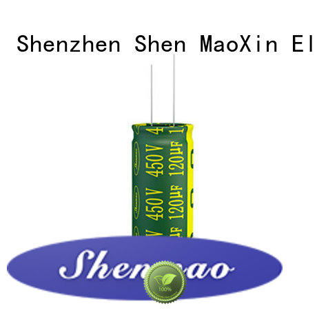 radial electrolytic capacitor for temperature compensation Shenmao