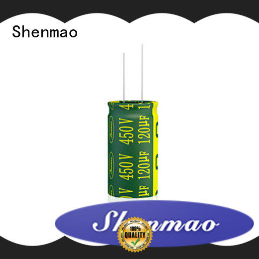 Shenmao radial electrolytic capacitor supplier for temperature compensation
