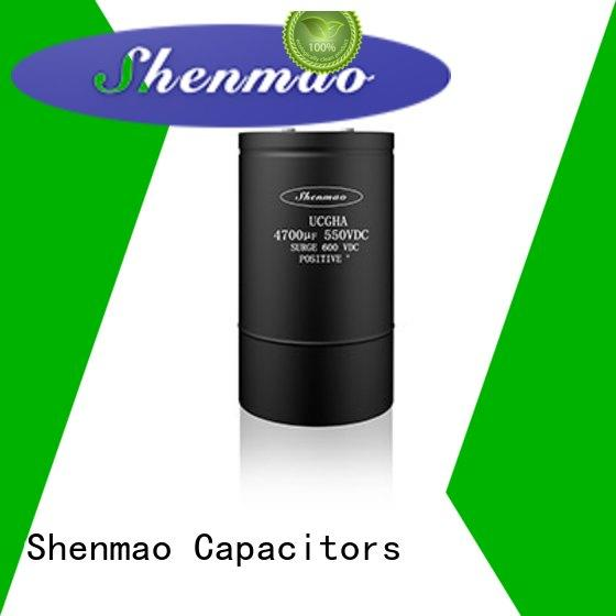 Shenmao good to use screw terminal capacitor supplier for energy storage