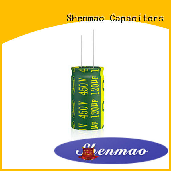 Shenmao radial lead capacitor supplier for rectification