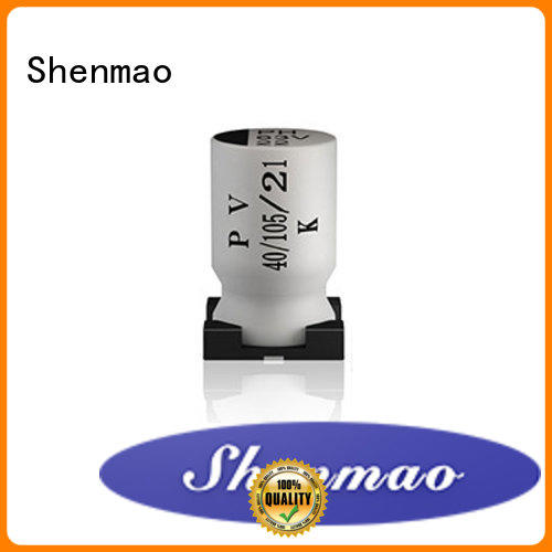 smd aluminum electrolytic capacitor supplier for filter