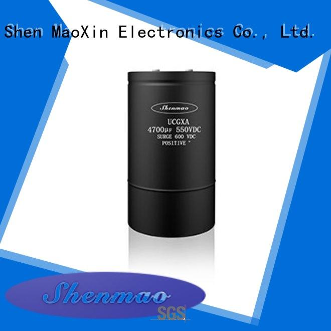 Shenmao competitive price aluminum capacitor manufacturers vendor for rectification