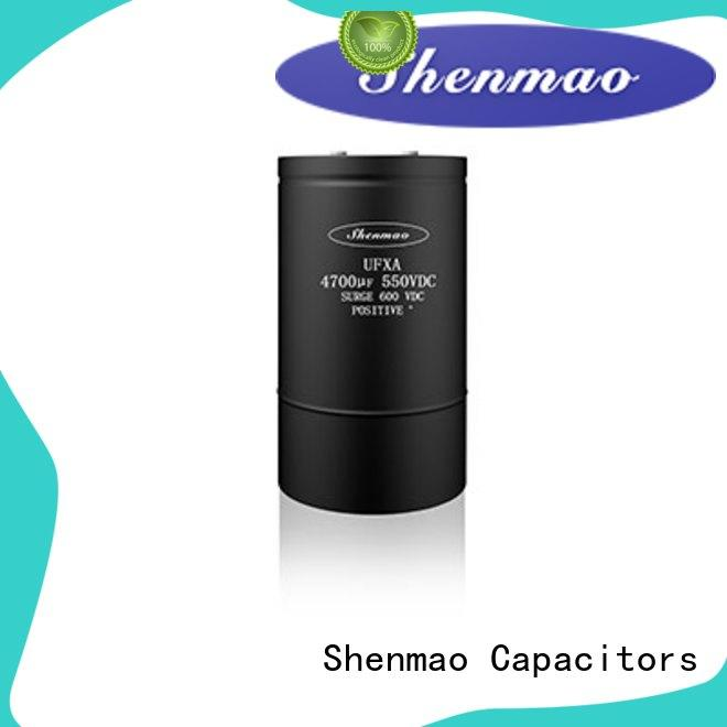 advanced technology Screw Terminal Aluminum Electrolytic Capacitor vendor for filter