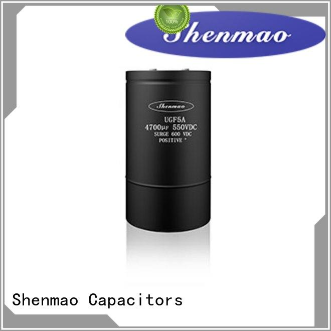 Shenmao screw type capacitor marketing for rectification