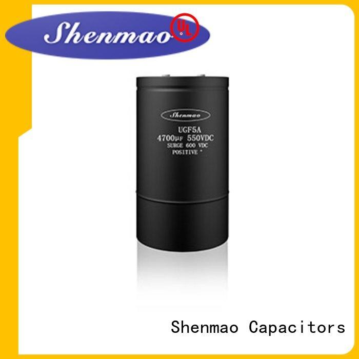 Shenmao 600v electrolytic capacitors marketing for rectification