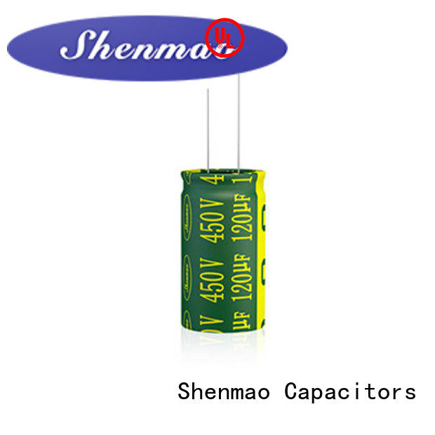 Shenmao 1000uf 450v radial electrolytic capacitors marketing for rectification