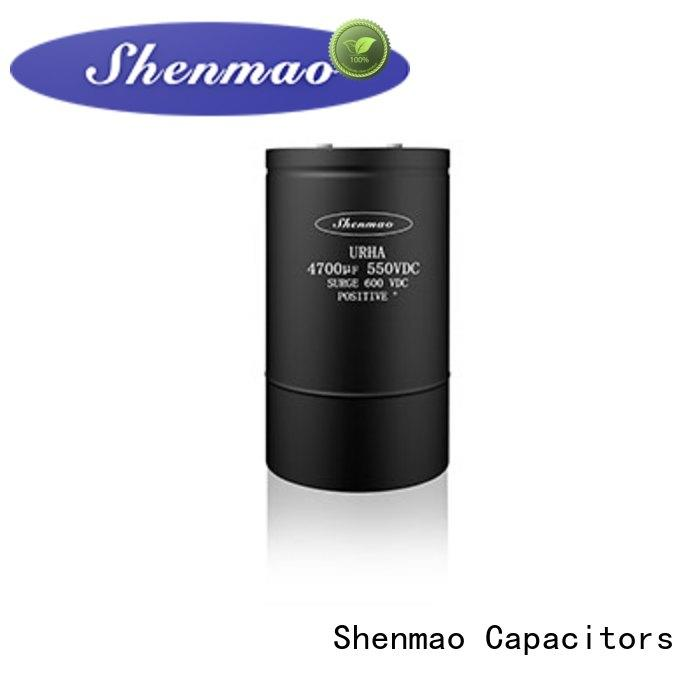 Shenmao polymer electrolytic capacitor overseas market for temperature compensation
