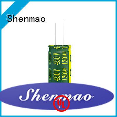 Shenmao 1000uf 450v radial electrolytic capacitors vendor for filter