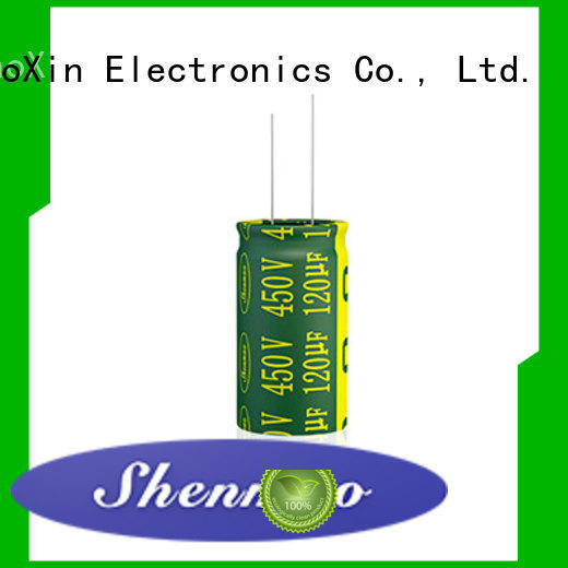Shenmao stable 470uf 250v radial electrolytic capacitor supplier for filter
