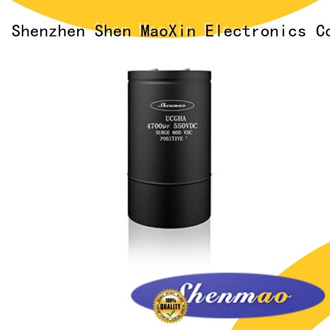 Shenmao 600v electrolytic capacitors owner for temperature compensation