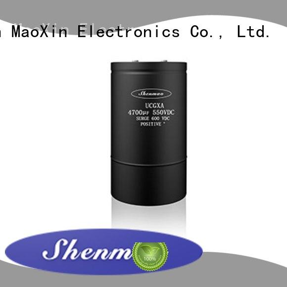 Shenmao good to use 600v electrolytic capacitors bulk production for tuning