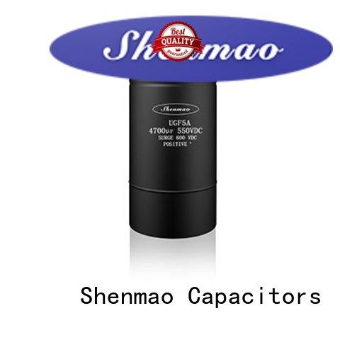 Shenmao large electrolytic capacitor supplier for energy storage