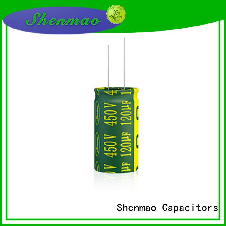 Shenmao easy to use 470uf 250v radial electrolytic capacitor marketing for energy storage