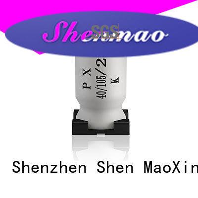 Shenmao smd capacitor manufacturers vendor for DC blocking