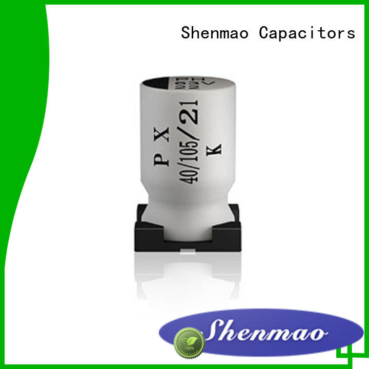 Shenmao energy-saving 47uf smd capacitor overseas market for energy storage