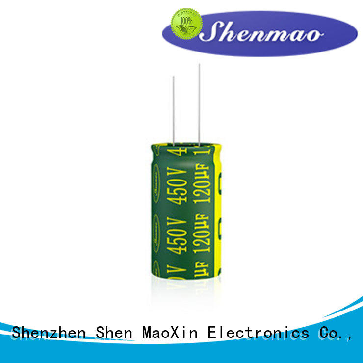 Shenmao radial lead capacitor bulk production for tuning
