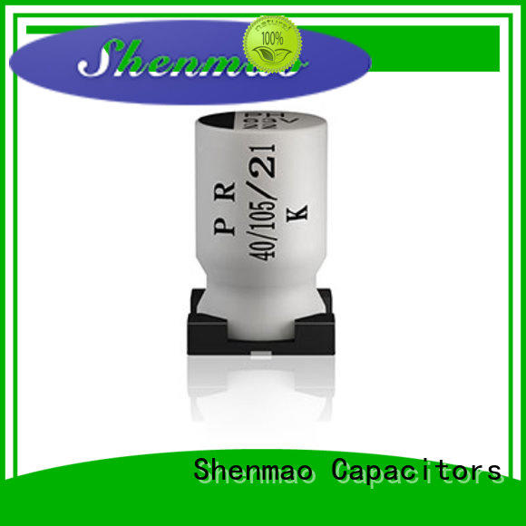 Shenmao stable smd electrolytic capacitor owner for rectification