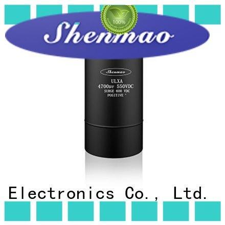 Shenmao screw terminal capacitors marketing for tuning