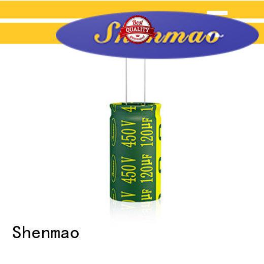 Shenmao durable radial capacitor supplier for coupling