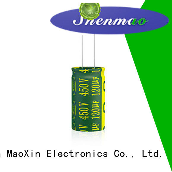Shenmao stable best electrolytic capacitors for audio for energy storage