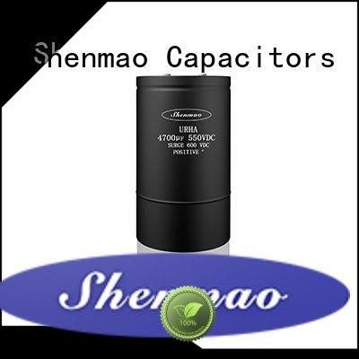 Shenmao screw terminal electrolytic capacitor owner for filter