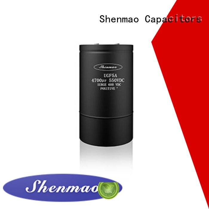 Shenmao screw terminal capacitor marketing for temperature compensation