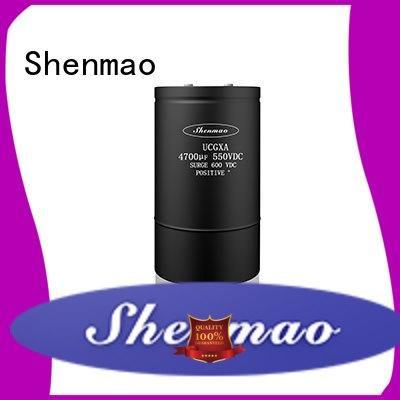 Shenmao low esr aluminum electrolytic capacitors oem service for timing