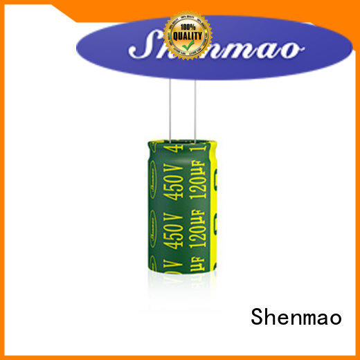 Shenmao easy to use radial aluminum electrolytic capacitors vendor for filter