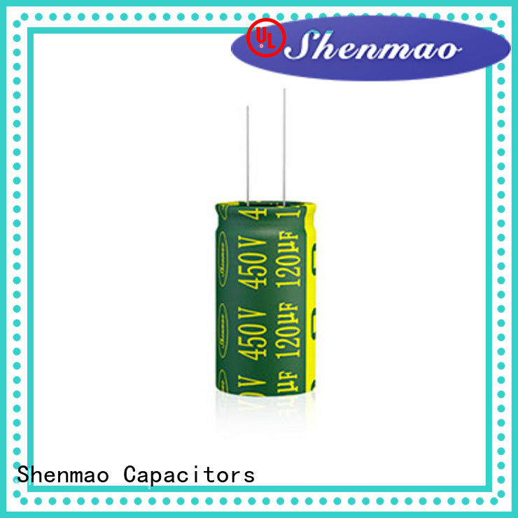 Shenmao 1000uf 450v radial electrolytic capacitors marketing for temperature compensation